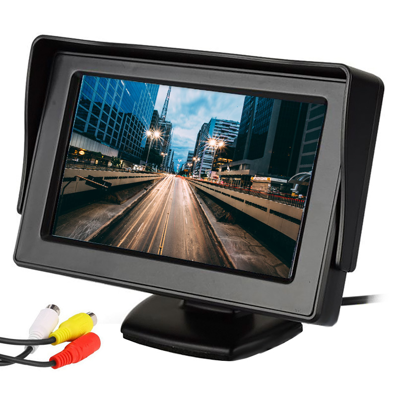 """Οθόνη αυτοκινήτου TFT-LCD Monitor 4.3"""" με ανάλυση 800 x 480 pixels - ΟΕΜ 25083"""