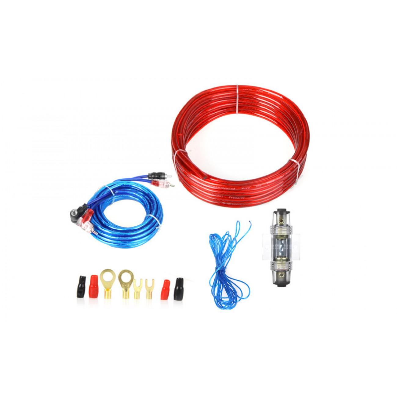 Κιτ καλωδίωσης ενισχυτών αυτοκινήτου MJ-8 - MJ-8 Amplifier Installation Kit - OEM 25085