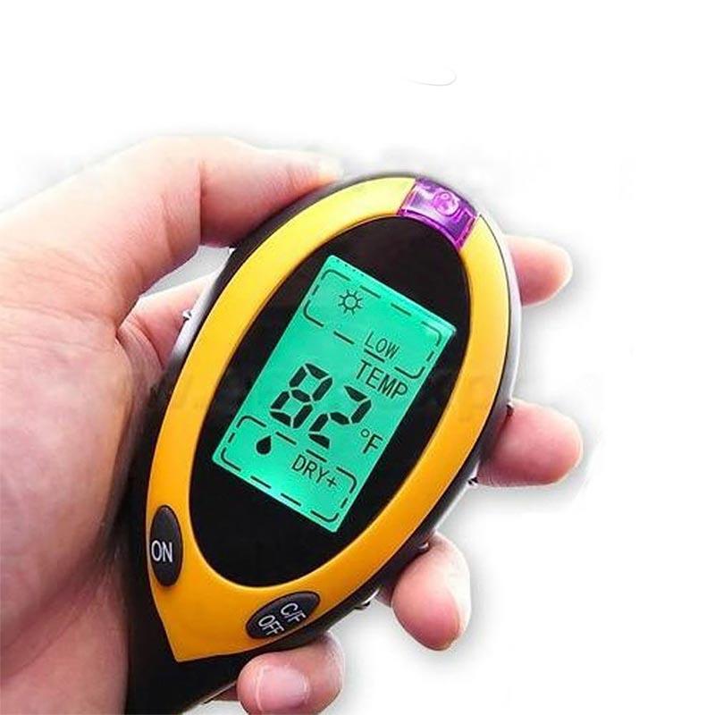 Ψηφιακός μετρητής που μετρά την ακτινοβολία, την υγρασία, το φως και το PH του εδάφους - OEM AMT-300 - 25167