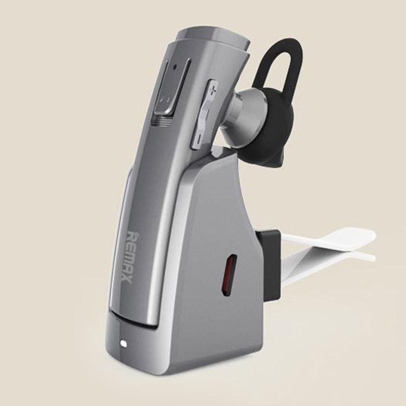 Ακουστικό Bluetooth με handsfree και βάση φόρτισης για το αυτοκίνητο - Remax RB-T6C - 25384