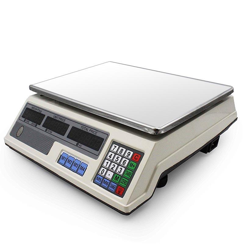 Ηλεκτρονική ζυγαριά με αυτόματο υπολογισμό τιμής - 40kgr - OEM 31661