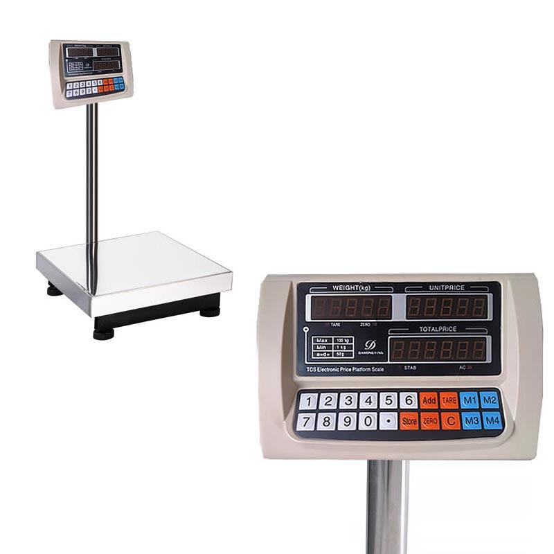 Ψηφιακή ζυγαριά πλάστιγγα 100kg με διαβάθμιση ανά 50gr - OEM 31668