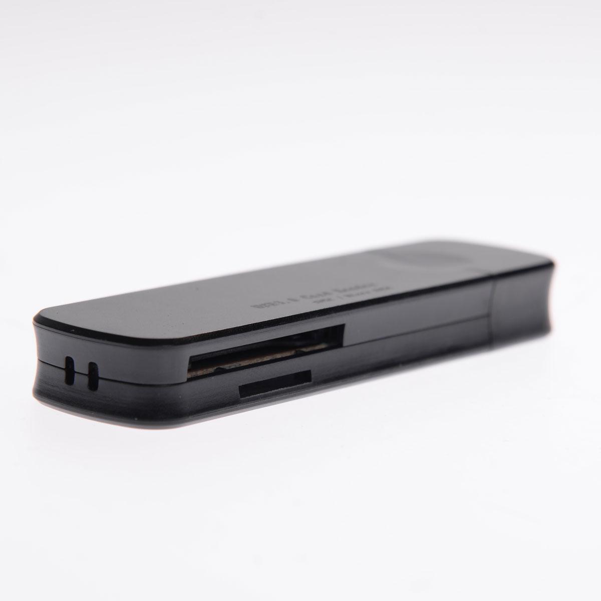 Card Reader USB 3.0  51126-Μαύρο - 1252 32327 + Μαύρο