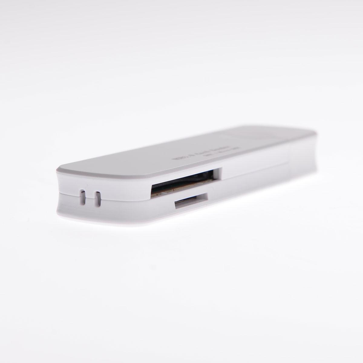Card Reader USB 3.0  51126-Λευκό - 1252 32328 + Λευκό