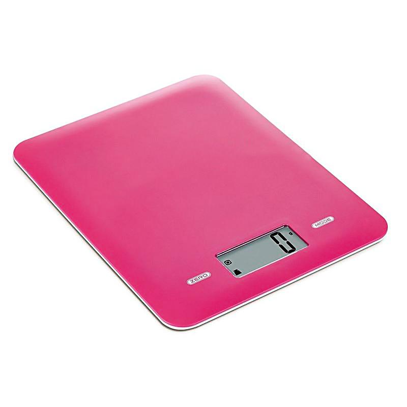 Ψηφιακή ζυγαριά κουζίνας 5kg/1g με LCD οθόνη - Constant 14192-294B - Φούξια - 1252 32568