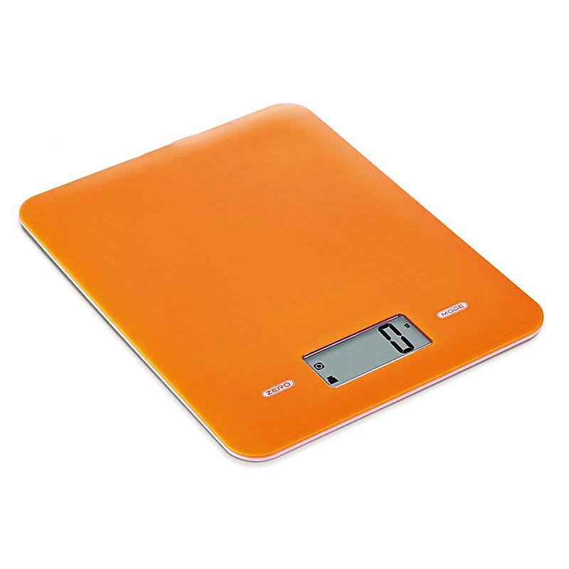 Ψηφιακή ζυγαριά κουζίνας 5kg/1g με LCD οθόνη - Constant 14192-294B - Πορτοκαλί - 1252 32570
