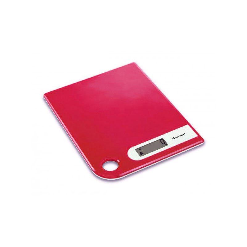 Ψηφιακή ζυγαριά κουζίνας Super Slim 5kg/1g με LCD οθόνη - Constant 14192-286B 51088-Κόκκινο - 1252 32571 + Κόκκινο