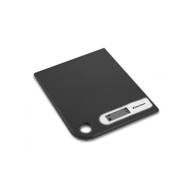 Ψηφιακή ζυγαριά κουζίνας Super Slim 5kg/1g με LCD οθόνη - Constant 14192-286B 51088-Μαύρο - 1252 32573 + Μαύρο