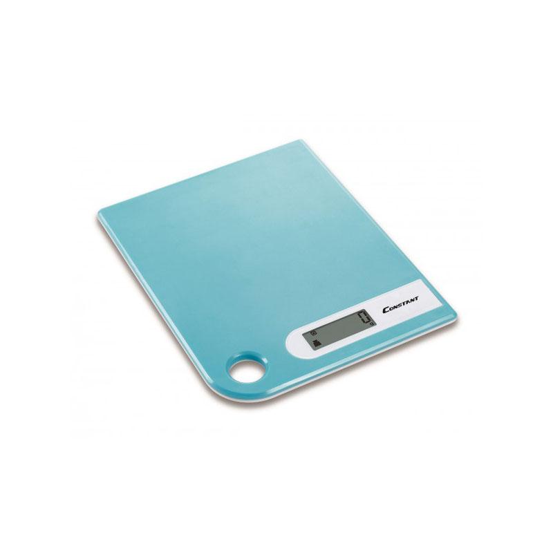 Ψηφιακή ζυγαριά κουζίνας Super Slim 5kg/1g με LCD οθόνη - Constant 14192-286B 51088-Πετρόλ - 1252 32575 + Πετρόλ