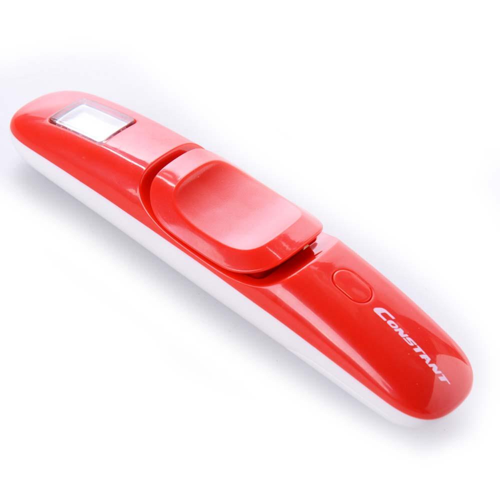 Φορητή ηλεκτρονική ζυγαριά αποσκευών έως 50kg με οθόνη LCD - Constant 14192-732E - Κόκκινο - 1252 32656