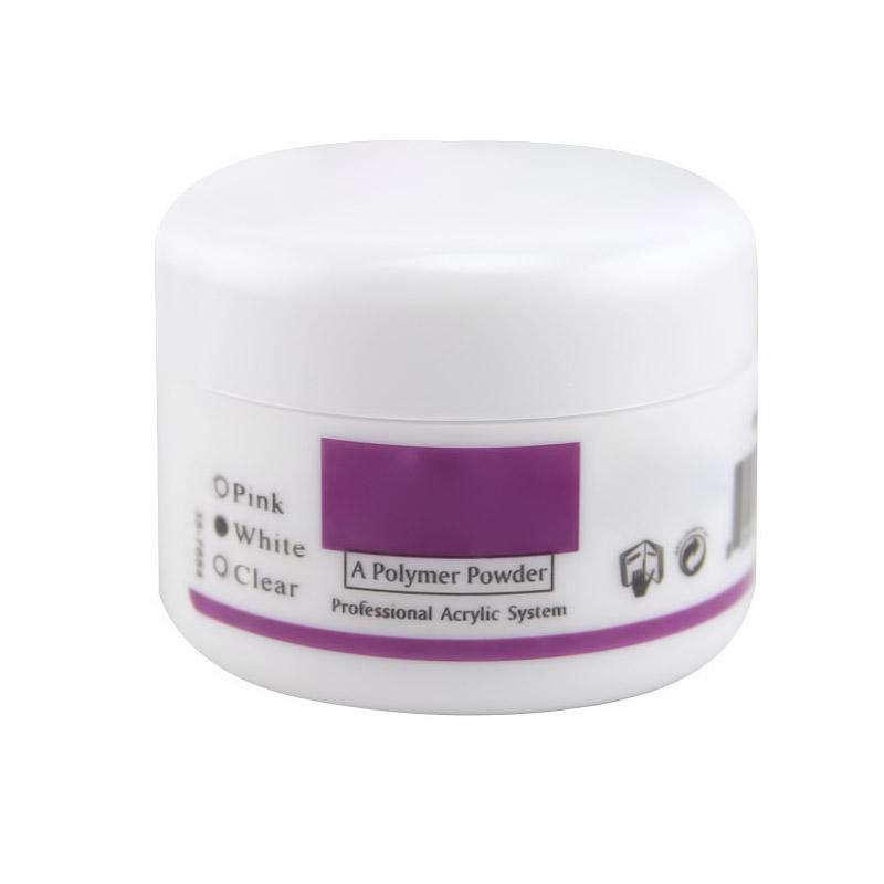 Ακρυλική σκόνη νυχιών - 30g - Λευκό - 1252 32696