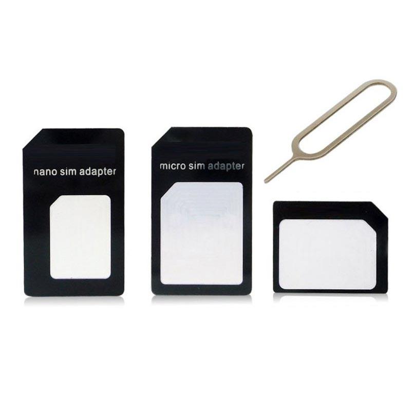 Sim card μετατροπέας 4 σε 1 με εξαγωγέα - OEM 3271