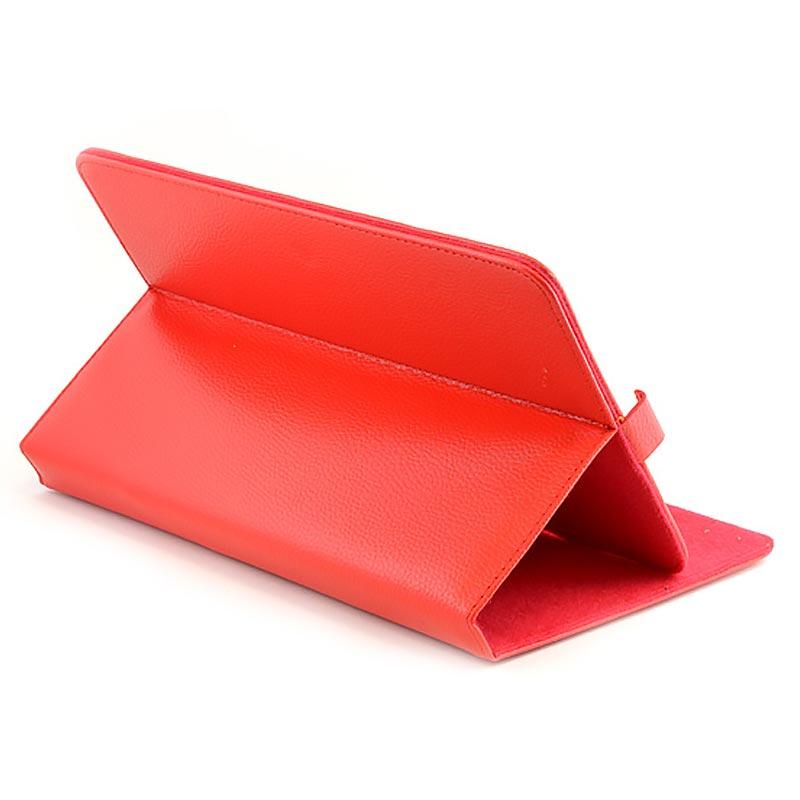 """Αναδιπλούμενη θήκη για Tablet 7"""" - Flip Cover Case Stand for Tablet 7"""" - OEM 3295 [Κόκκινο]"""