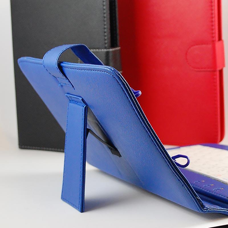 """Αναδιπλούμενη Θήκη με γαντζάκια και πληκτρολόγιο για Tablet 7"""" - Flip Cover Keyboard Case for Tablet 7"""" - OEM 3343 [Κόκκινο]"""