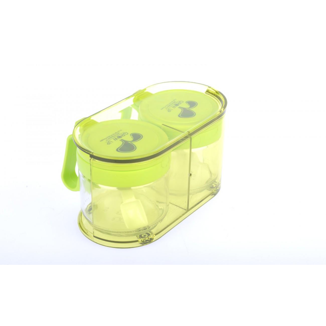 Σετ βαζάκια μπαχαρικών - Πράσινο - ΟΕΜ 34129