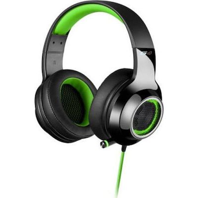 Headset Edifier G4 7.1 Black/Green USB