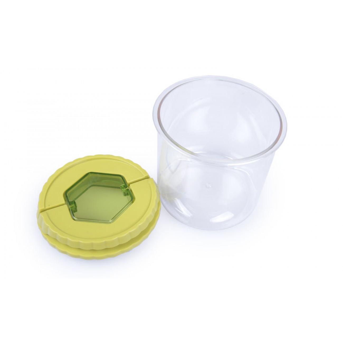 Δοχείο φύλαξης τροφίμων 800ml με καπάκι - Πράσινο - ΟΕΜ 34297