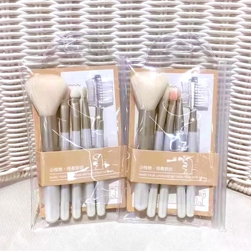 Επαγγελματικά πινέλα για μακιγιάζ  Λευκό χρώμα - Σετ  τμχ - 1252 35476