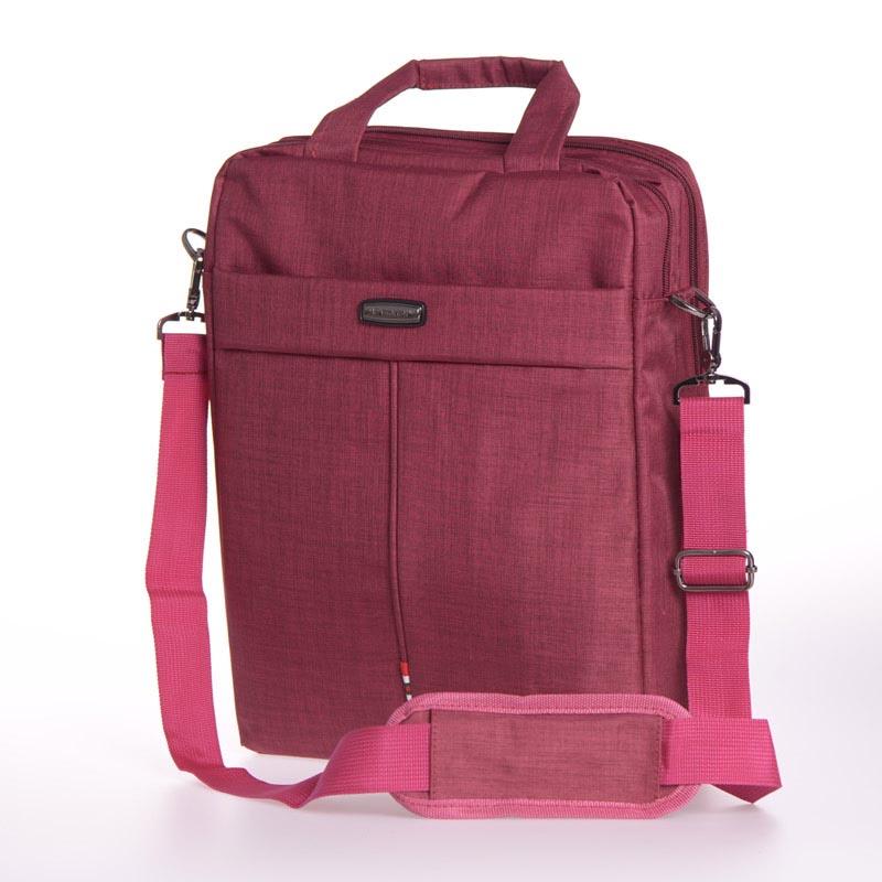 """Τσάντα για laptop έως 14"""" - Βυσσινί - Yaduoli - 1292 35662"""