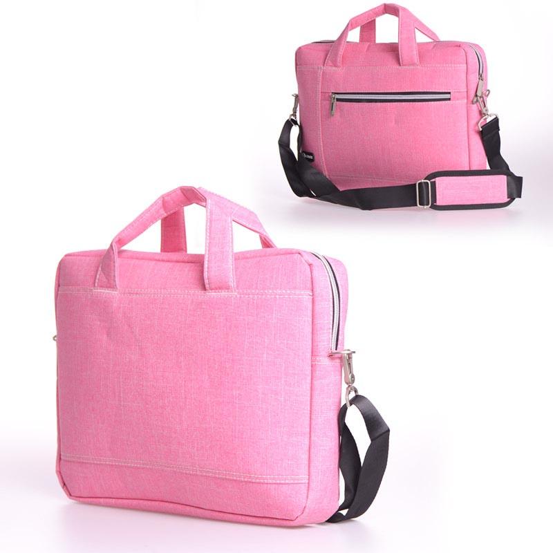 Τσάντα για laptop έως 14 - Ροζ - J. QMEI - 1291 35664