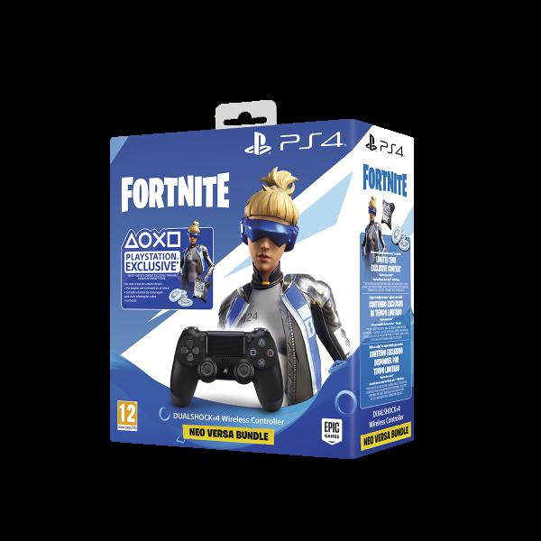 DualShock 4 V2 χειριστήριο PS4 Μαύρο + Fortnite voucher 2019 - 1253 35922