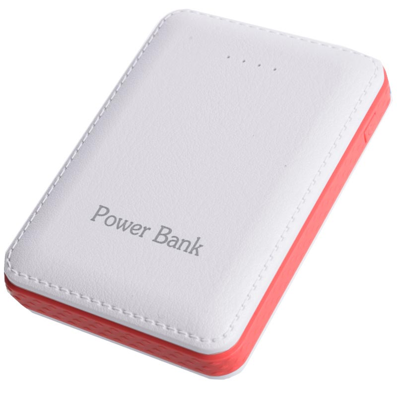 Power bank 5V/12000mAh με 3 θύρες USB - Λευκό/Κόκκινο - OEM 47603