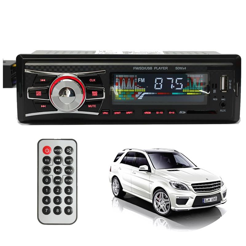 Mp3 player αυτοκινήτου με είσοδο USB/SD/AUX, ραδιόφωνο και χειριστήριο – Carbon 6083 - OEM 51101