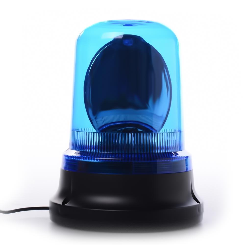 Περιστρεφόμενος μαγνητικός φάρος αλογόνου 12V για το αυτοκίνητο - Μπλε - OEM 51497
