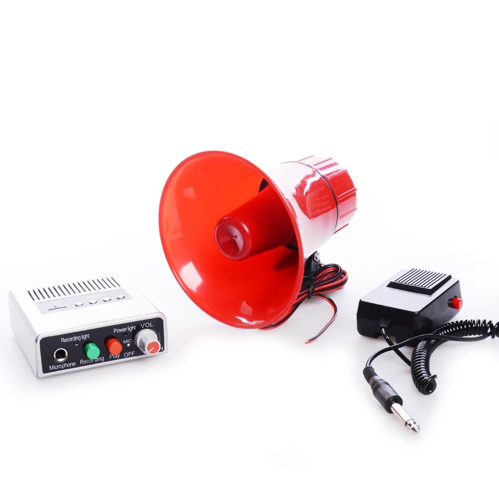 Ενισχυτής 25W/110dB με κόρνα ενσωματωμένης κεφαλής με μικρόφωνο και μαγνήτη - OEM 51516