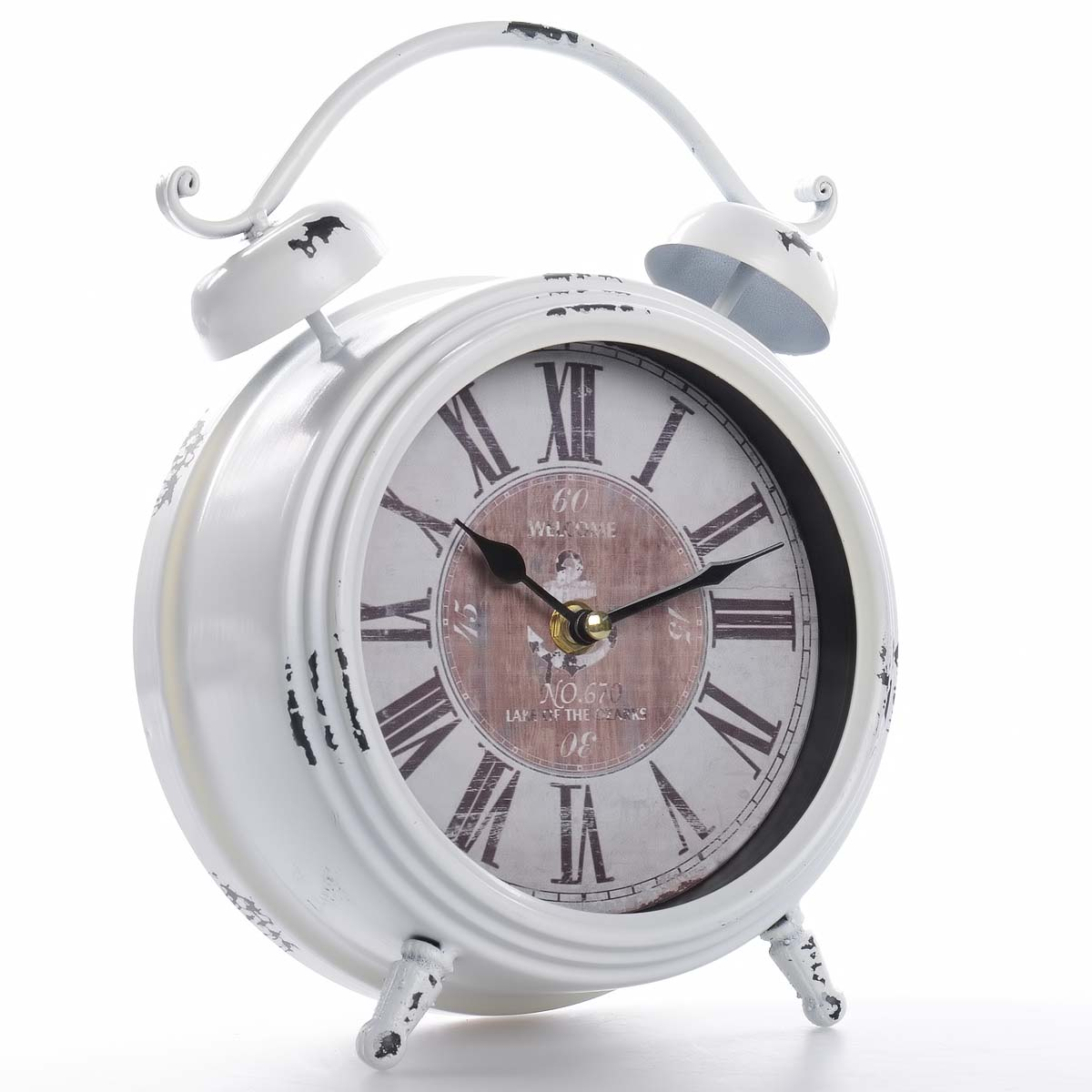 Vintage χειροποίητο διακοσμητικό ρολόι μεταλλικό - OEM 51534