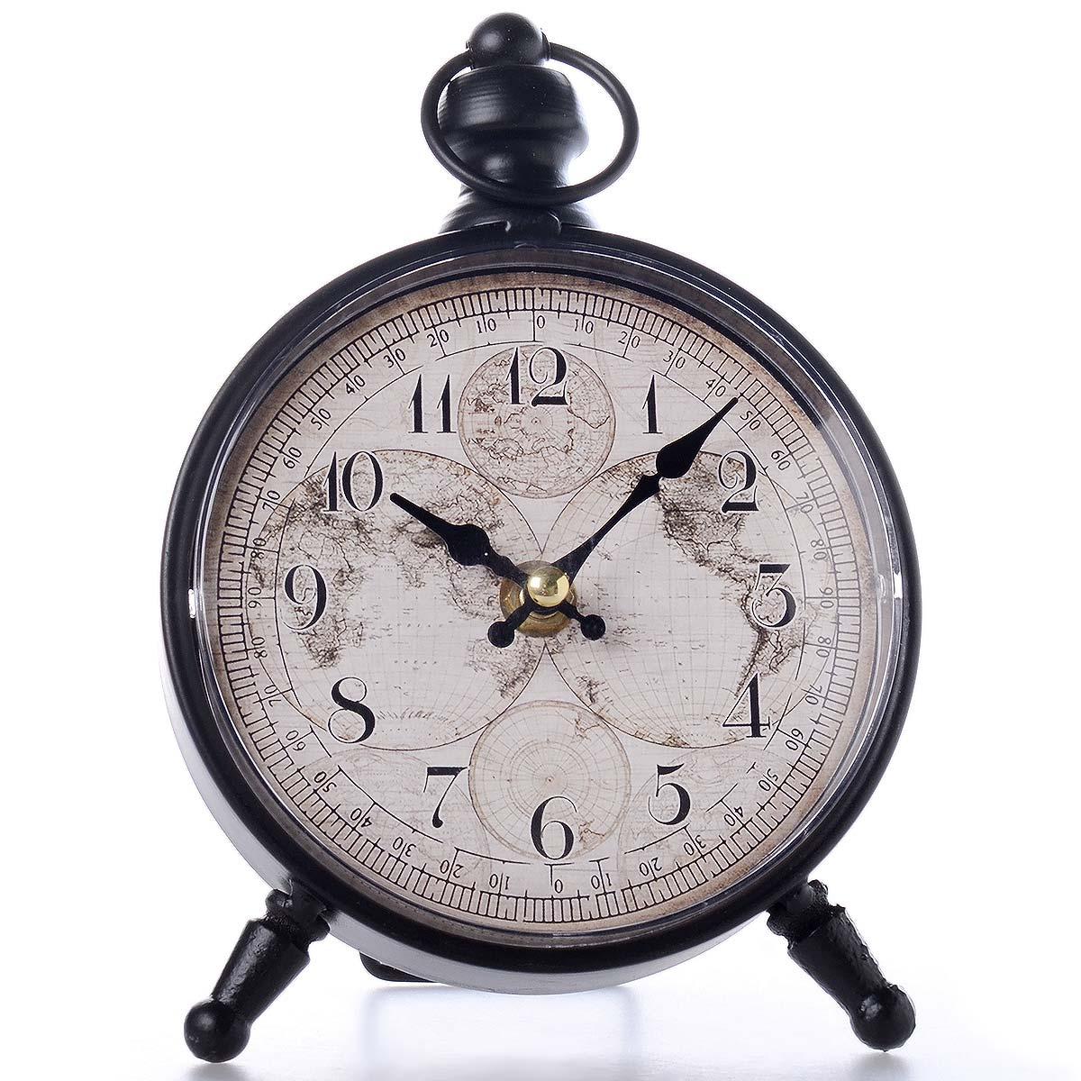 Vintage χειροποίητο διακοσμητικό ρολόι μεταλλικό - OEM 51537