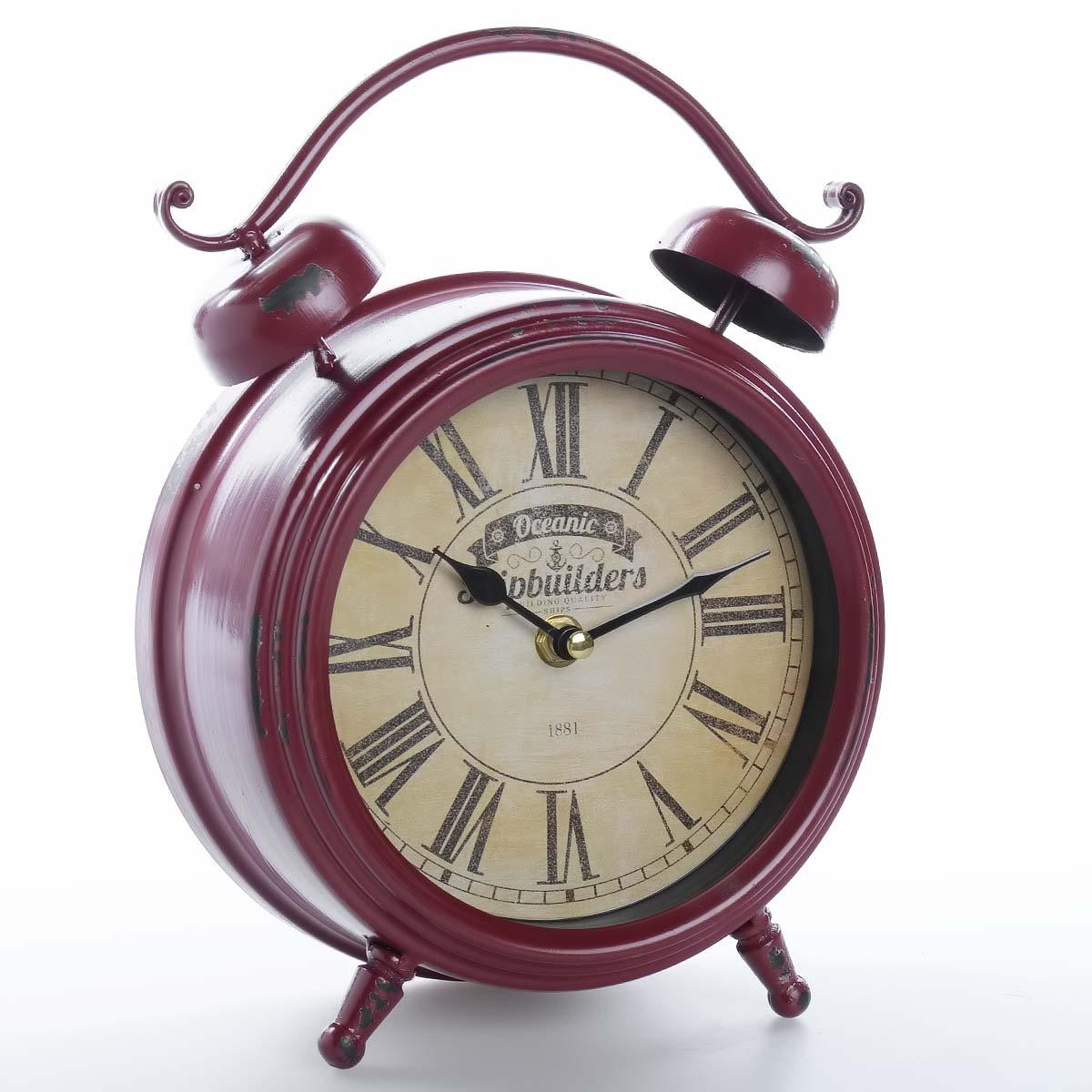 Vintage χειροποίητο διακοσμητικό ρολόι μεταλλικό - ΟΕΜ 51551