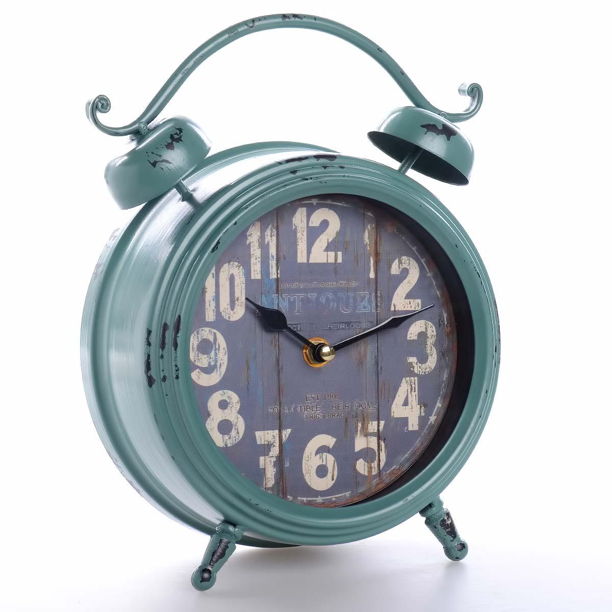 Vintage χειροποίητο διακοσμητικό ρολόι μεταλλικό - ΟΕΜ 51552