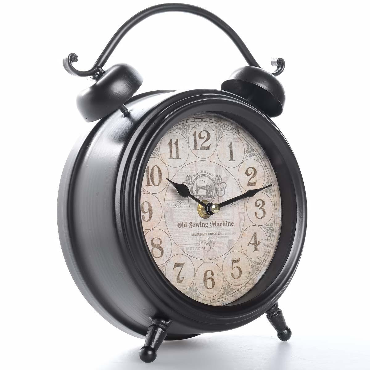 Vintage χειροποίητο διακοσμητικό ρολόι μεταλλικό - ΟΕΜ 51553