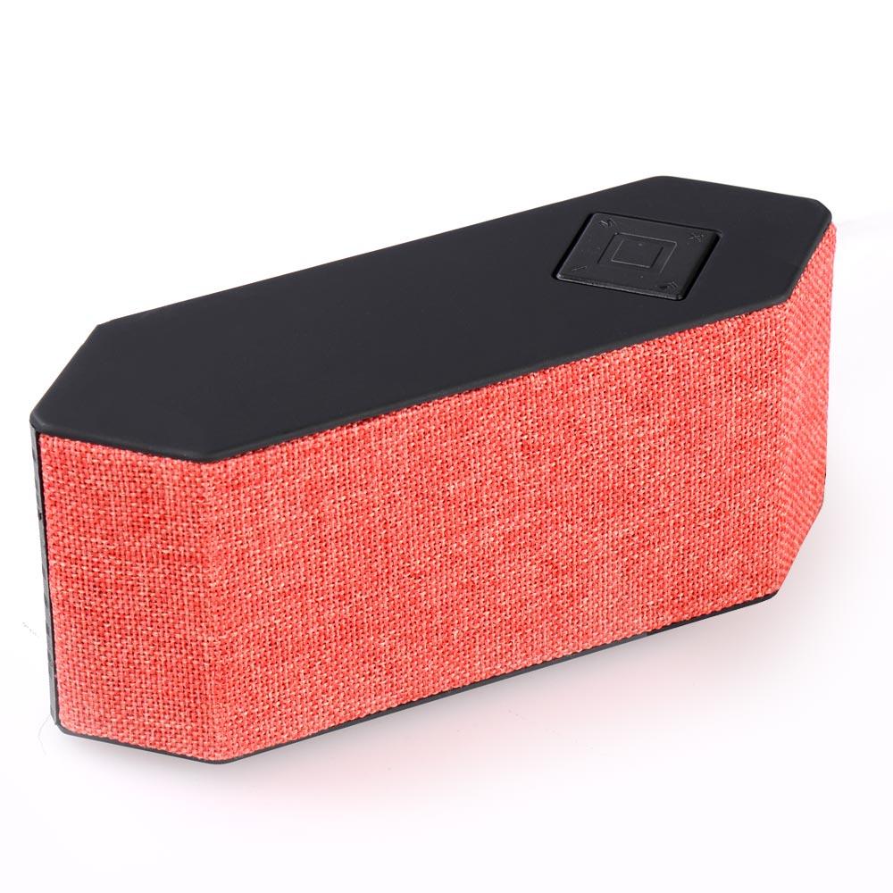 Φορητό ηχείο - ραδιόφωνο με Bluetooth και εισόδους USB/TF card/AUX - K71 - Πορτοκαλί - OEM 51992