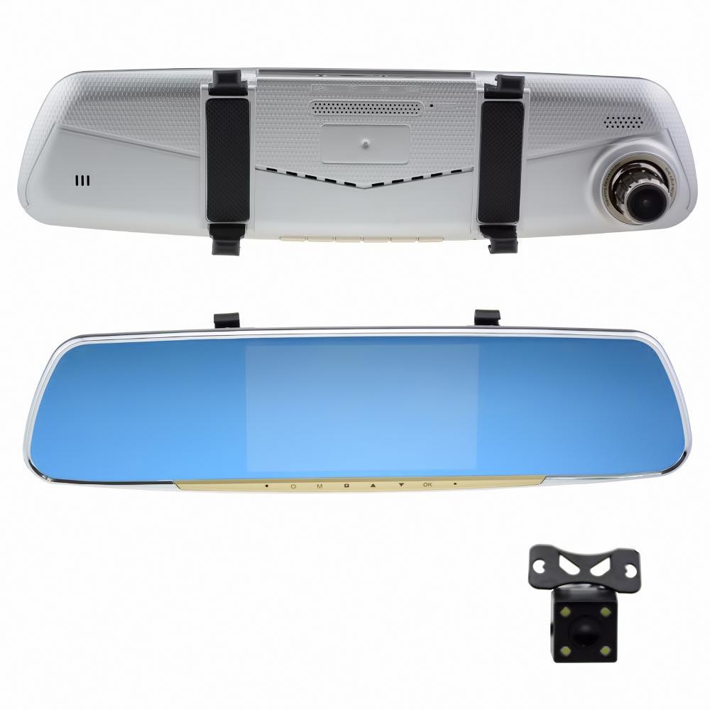 """Καθρέφτης αυτοκινήτου FHD με οθόνη LCD 7"""" και κάμερα οπισθοπορείας - OEM V10 - 52023"""