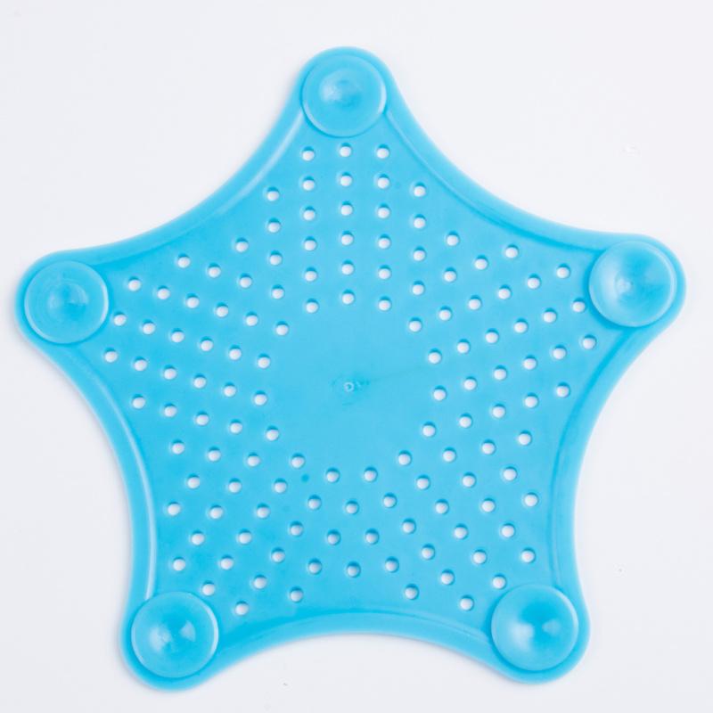 Τάπα σιφωνιού για κουζίνα και μπάνιο σε σχήμα αστερία - Γαλάζιο - OEM 52092