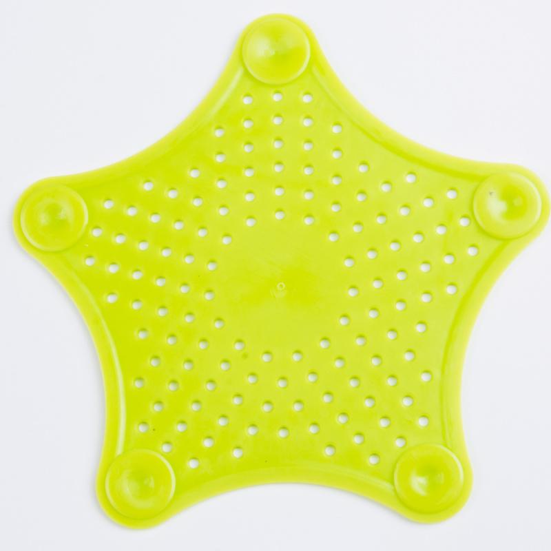 Τάπα σιφωνιού για κουζίνα και μπάνιο σε σχήμα αστερία - Λαχανί - ΟΕΜ 52267