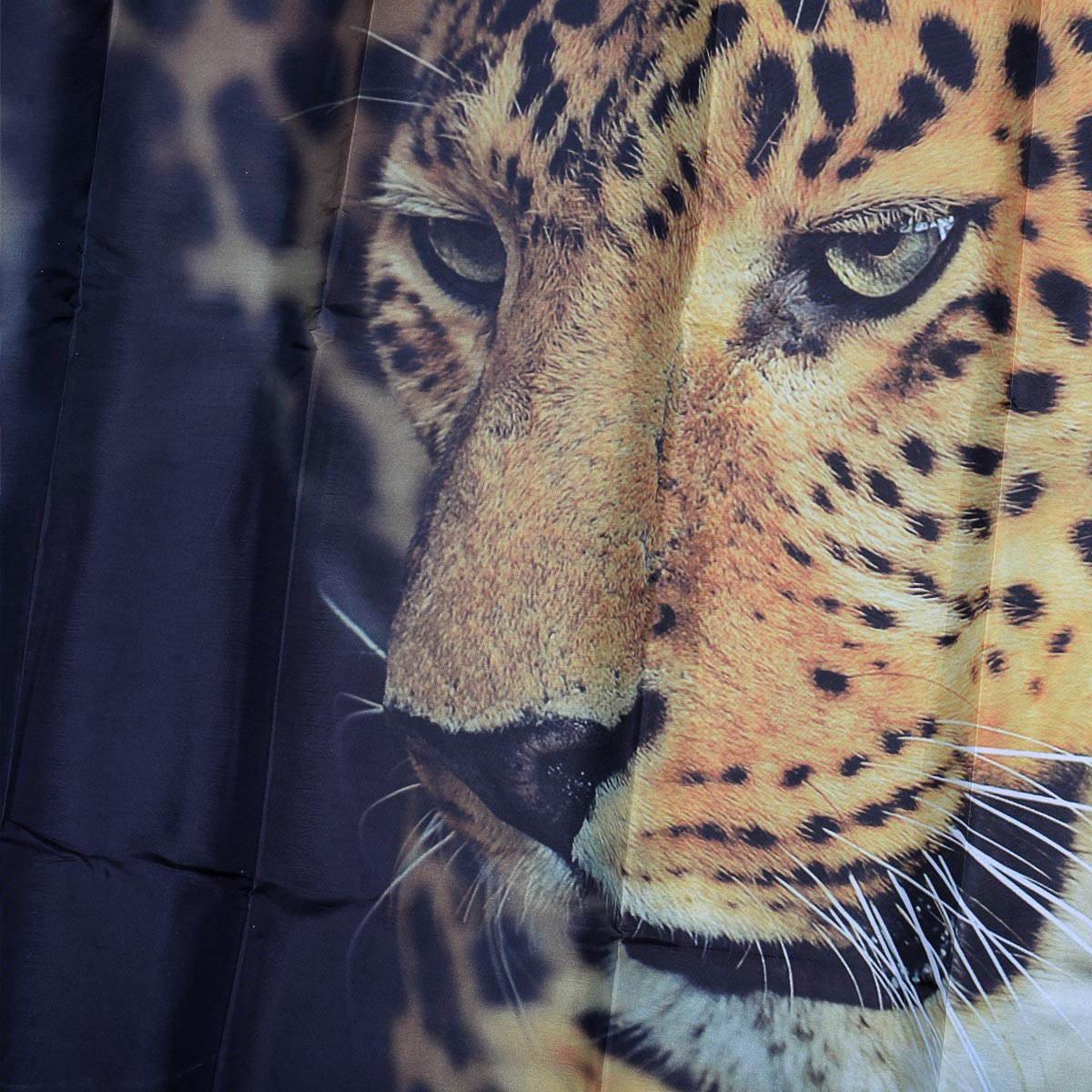 Αδιάβροχη υφασμάτινη κουρτίνα μπάνιου Leopard 180x180cm - OEM 52294