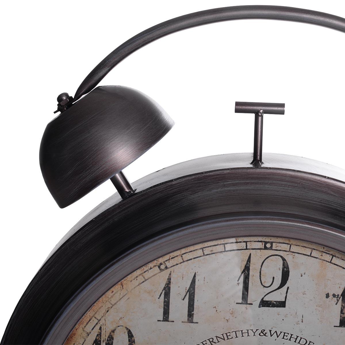 Vintage χειροποίητο διακοσμητικό ρολόι μεταλλικό - ΟΕΜ 52316