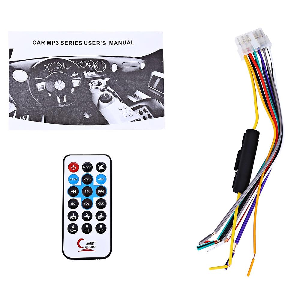 Mp3 Player αυτοκινήτου, με εισόδους AUX/USB/SD, bluetooth, FM και τηλεχειριστήριο - RK-520 - OEM 52499