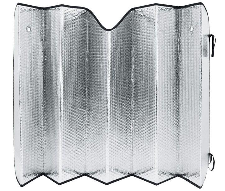 Ηλιοπροστασία παρμπρίζ αυτοκινήτου Κόκκινο / Ασημί 70x130cm - OEM 52500