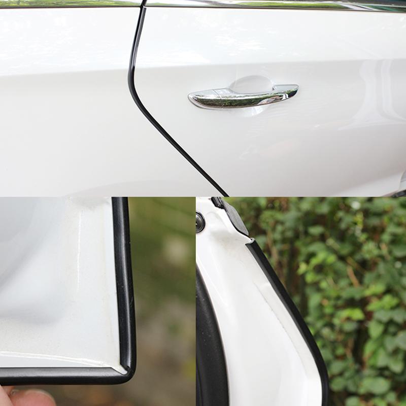 Προστατευτική ταινία 130cm U12 για την πόρτα του αυτοκινήτου - Μαύρο - Carsun LA-077 - 52571