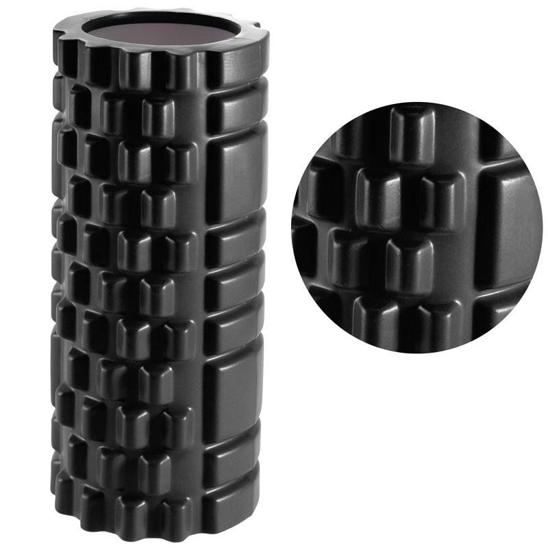Κύλινδρος EVA ισορροπίας και μασάζ yoga-pilates roller - Μαύρο - OEM 52681