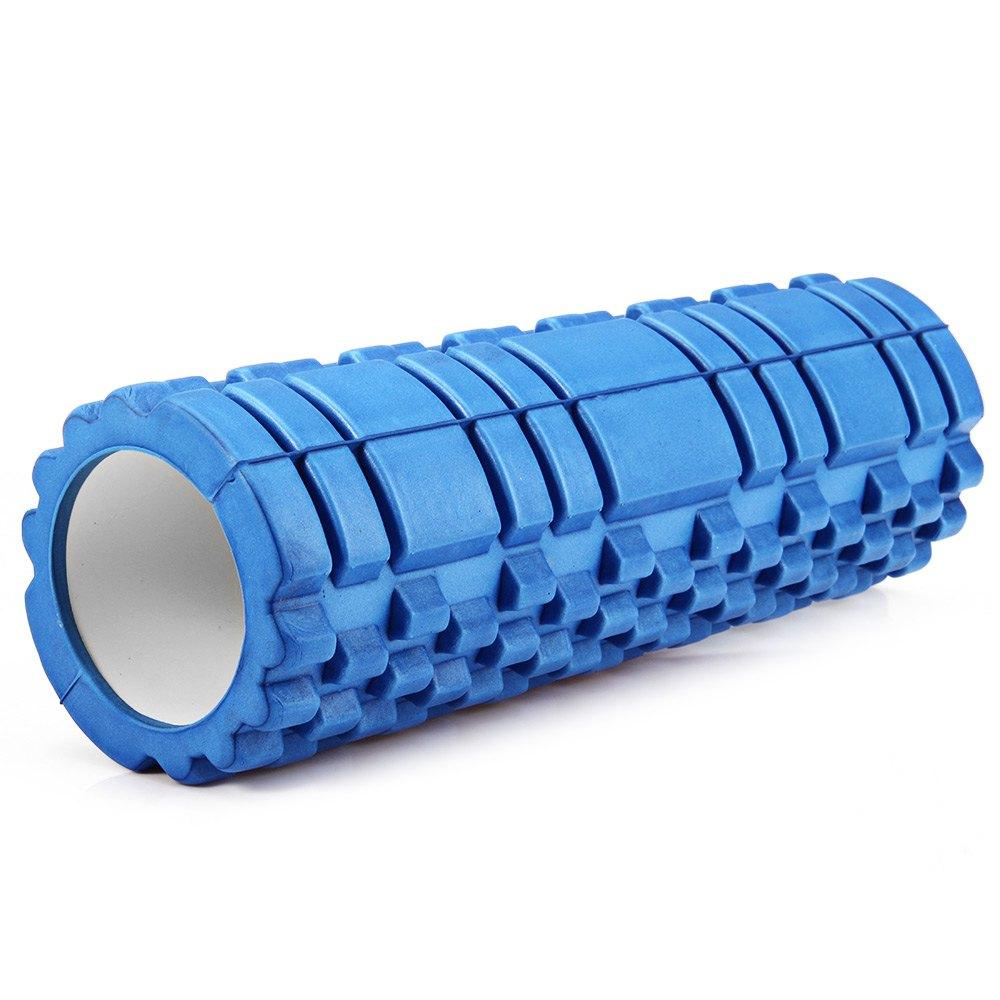 Κύλινδρος EVA ισορροπίας και μασάζ yoga-pilates roller - Μπλε - OEM 52682