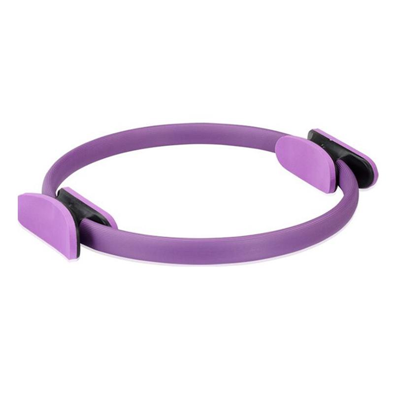 Δαχτυλίδι γυμναστικής yoga και pilates 39cm - Μωβ - OEM 52689