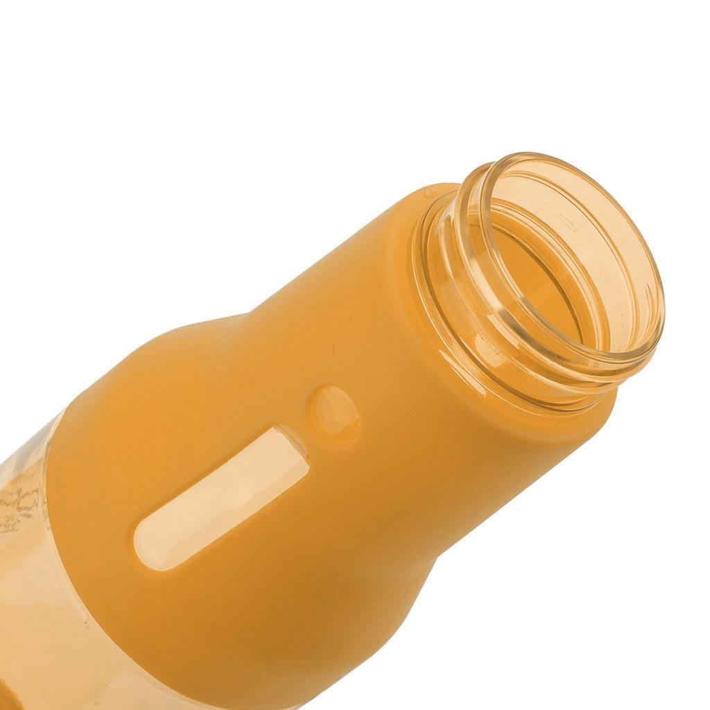 Μπουκάλι νερού 500ml με καπάκι χωρίς διαρροές - Πορτοκαλί - OEM 52698