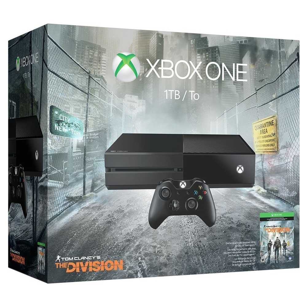 Microsoft Xbox One 1TB & Tom Clancy The Division - Microsoft 52712