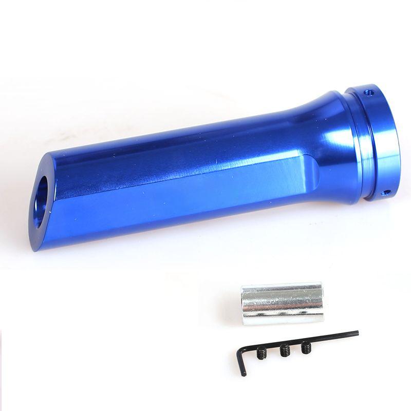 Διακοσμητικός λεβιές χειρόφρενου από αλουμίνιο - Μπλε - OEM 52717