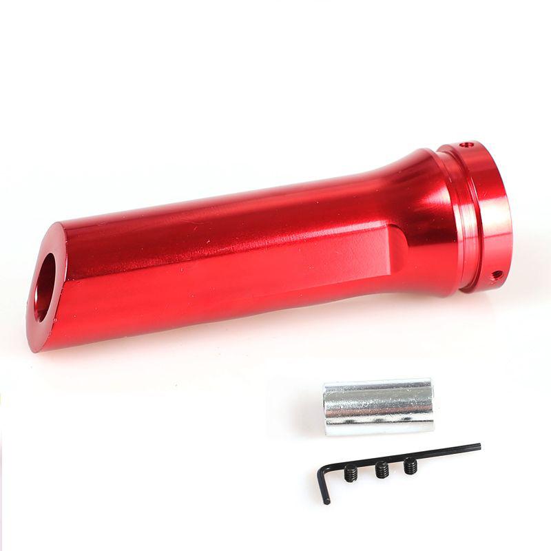 Διακοσμητικός λεβιές χειρόφρενου από αλουμίνιο - Κόκκινο - OEM 52718